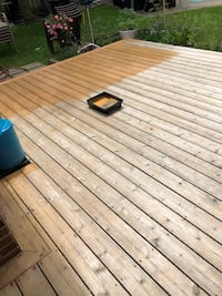 Deck and Fence cleaning and staining Vaughan, L4K 5K6