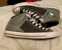 black-and-white Converse All Star high tops Belton, 64012