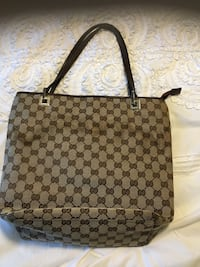 monogrammed brown Gucci leather tote bag San Francisco, 94124
