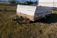 Pop up camper  best offer moving need it gone i in herited it
