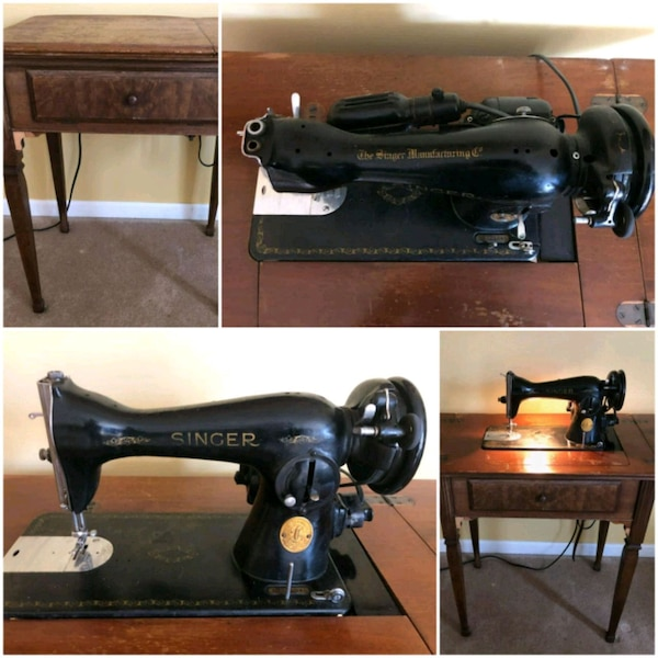 Singer Sewing Machine with Knee Control  1948  Wor