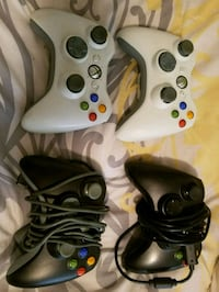 4 wireless xbox360 controllers, in great working co Las Vegas, 89142