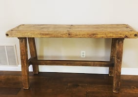 Rustic entry/sofa table