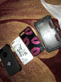 2 otter box with belt clip and 2 regular cases for 8plus ! Beaumont, 77705