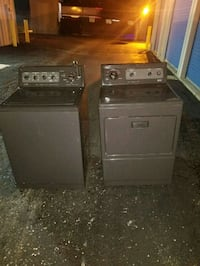 two gray washer and dryer set Indianapolis, 46227