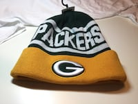 Green Bay Packers Knit Hat. PACKERS On Front and Back. Little Rock