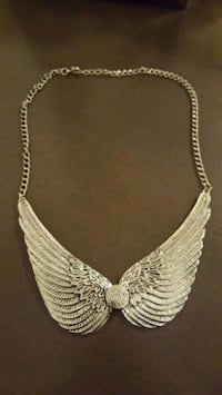 Angel wing necklace  Barrie