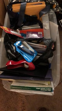 Bin full of office supplies District Heights, 20747