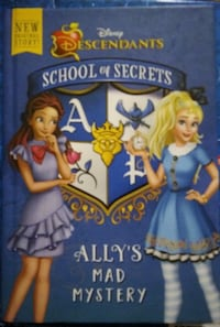 School Of Secret's Ally's Mad Mystery.  Victoria