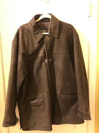 Men's large suede coat Gwynn Oak, 21207