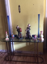 Glass table, clown statues, decorative vases- all pictured! Whittier, 90604