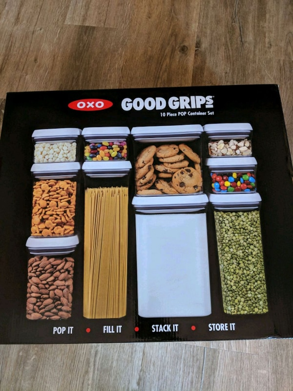 OXO Good Grips 10 pc POP container set