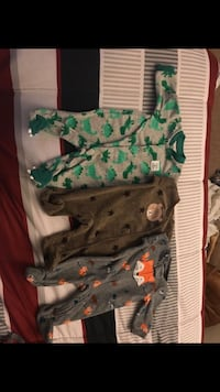 Warm Newborn PJs 3 for $10 Washington