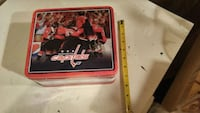 Washington Capitals Holtby tin lunch box Timberlea, B3T 1G2