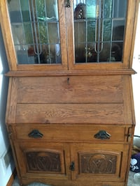 Antique Secretary and China Cabinet Goodyear, 85338