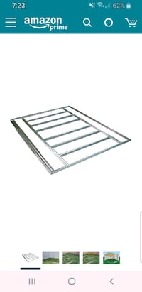 Outdoor shed floor framing kit 10'X6' & 8'X6' Sharon, 02067
