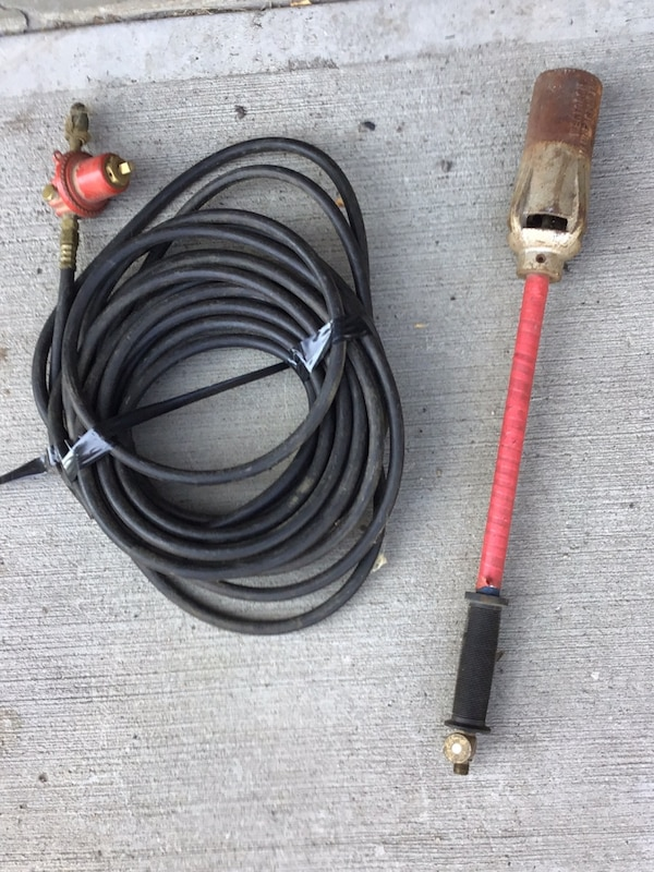 Propane torch,hose and guage