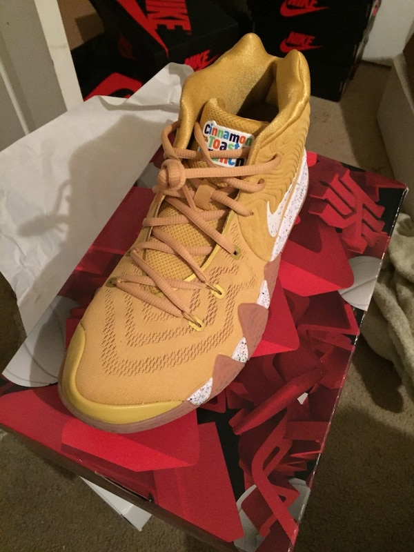 910a0f54a8dc0b Used Kyrie 4 Cinnamon Toast Crunch size 9.5 for sale in New York - letgo