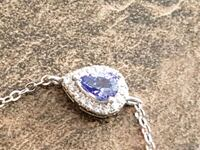 BRAND NEW SS PEAR-SHAPED TANZANITE BRACELET  Winnipeg, R2W 1G3