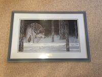 Ron Parker signed limited Edition print Calgary, T2X 3A4