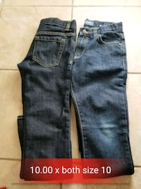 blue denim straight-cut jeans Bakersfield, 93313