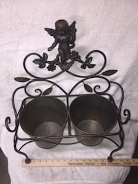 Cherub Angel Dual planter For indoors or outdoors