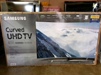 "65"" 4k SAMSUNG 8500 CURVED SMART TV NEW  Bellflower, 90706"