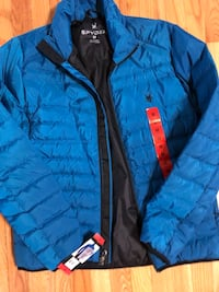 Spyder down jacket, men M, brand new w tag Great Falls, 22066