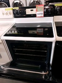 KENMORE glass top electric stove working perfectly 4 months warranty
