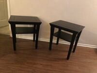 Two Black End Tables San Diego, 92124