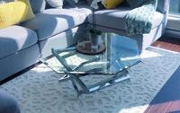 COFFEE TABLE + END TABLE SET ( NEGOTIABLE)
