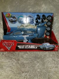 Cars 2 Gear Up & Go Finn McMissile   The Woodlands