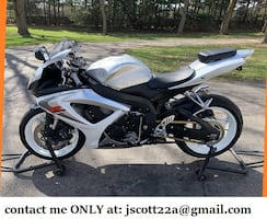 GREAT DAILY COMMUTER✫ŠUŽ⊍KI✮GSXR◇07✫✫✫NEW TIRES, OIL JUST CHANGED
