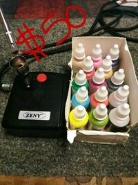 airbrush w paints and stencils Tucson, 85706