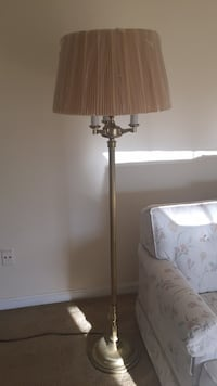 brown and white floor lamp 12 mi