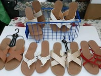 Women's J.Crew and Charlotte Russe sandals size of 6 7 and 8 available