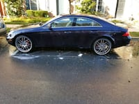 Blue CLS500 with 22 Inch rims Rockville