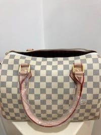 Damier Azur Louis Vuitton leather crossbody bag Brampton, L6V