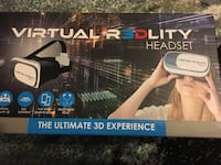 Virtual reality 3d headset Bowie