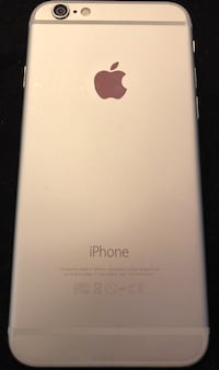 Silver iphone 6 64gb rogers