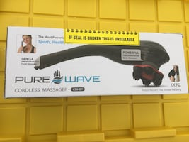 Pure Wave Cordless Massager Facial & Body