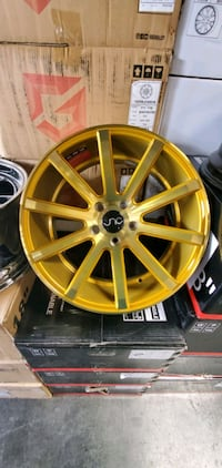 "4 NEW 18"" JNC 024 WHEELS.  [TL_HIDDEN] . GOLD. FINANCING AVAILA Citrus Heights, 95621"