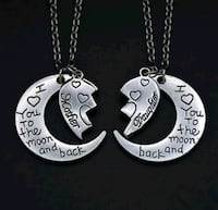 $14 NEW set of mother/daughter necklaces  Ballwin, 63021