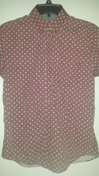 American Eagle Button Up Shortsleeve