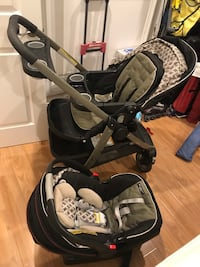 Graco click connect stroller and infant car seat Davison, 48423