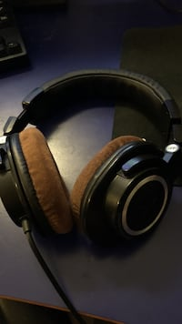 Audio technica ath m50 med velour pads