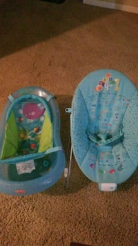 Baby bath,and bouncer  Perry, 31069
