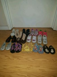 Girls shoes size 6 and 7 Edmonton, T6A 0M7