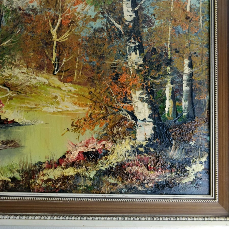 Original Oil on Canvas by listed artist VARGA  edef78db-f2eb-4deb-aee4-658b0ab193cd