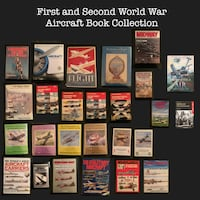 First and Second World War Aircraft Book Collection Toronto, M5C 1K9